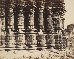 Columns of the Temple of Ambernath